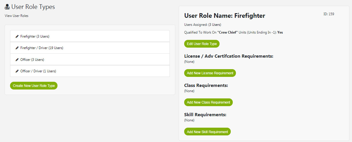 Create And Edit User Roles